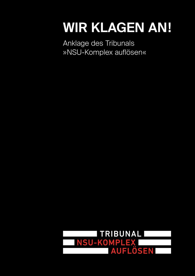 Anklageschrift NSU-Tribunal